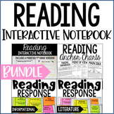 Reading Interactive Notebook | 5th Grade Interactive Noteb