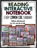 Reading Interactive Journal Notebook CCSS Aligned
