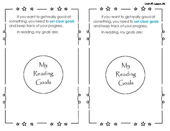 Reading Interactive Notebook - Lesson #4 - Web