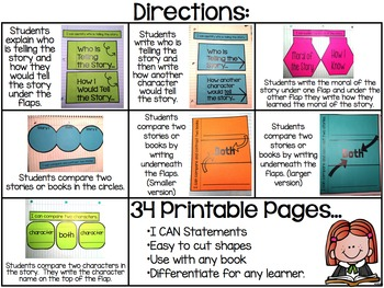 Reading Interactive Notebook Packet