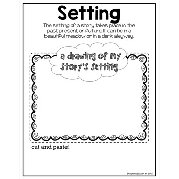 Reading Interactive Notebook Sampler Freebie