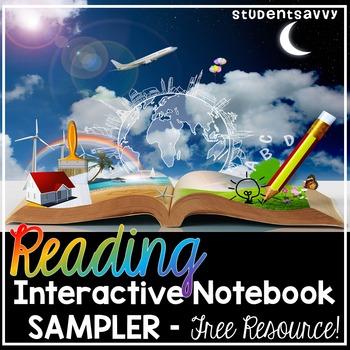 Reading Interactive Notebook Sampler Freebie