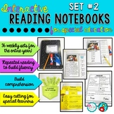 Reading Interactive Notebook Special Education