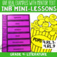 Reading Interactive Notebook with Mini Lessons - ENTIRE YEAR 4th Grade CCSS