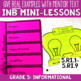 Reading Interactive Notebook with Mini Lessons - ENTIRE YEAR 5th Grade CCSS