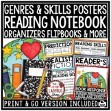 Reading Notebook 3rd Grade 4th Grade Literacy Center Activ