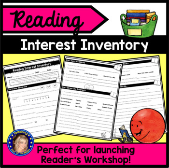 This wonderful FREE interest inventory created by Teaching East of the Middle is featured in this blog post on strategies for building a love of literacy in the classroom.