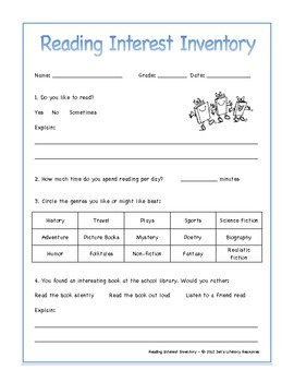 It's just an image of Critical Interest Inventory for Middle School Students Printable
