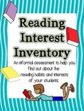 Reading Interest Inventory K-3