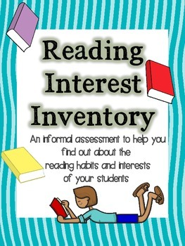 Reading Interest Inventory K-3
