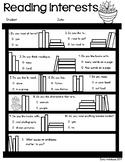 Reading Interest Inventory Survey