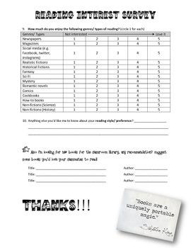 servey questionnaire