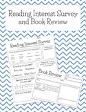Reading Interest Survey and Book Review