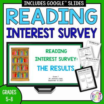 Reading Interest Survey   Distance Learning