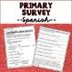 Reading Interest Surveys for Primary & Intermediate in English & Spanish