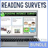 Reading Interest and Attitude Surveys Bundle