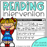 Reading Intervention {DIGITAL version in Google Slides included!}