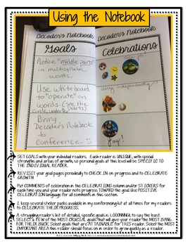 Decoding Multisyllabic Words READING CONFERENCE NOTEBOOK  Reading Intervention