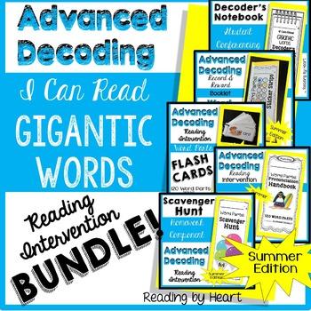 SUMMER READING Decoding Multisyllabic Words STARTER KIT BUNDLE