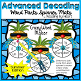 SUMMER READING Decoding Multisyllabic WORD PARTS CREATE-A-