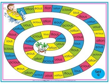 Decoding Multisyllabic Words WORD PARTS GAME BOARDS SUMMER Reading Intervention