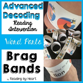 BRAG BANDS SUMMER Reading Intervention: Advanced Decoding