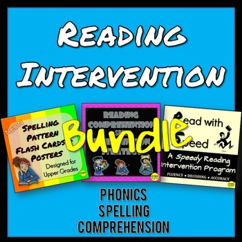 Reading Intervention for Comprehension and Phonics