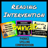 Reading Intervention for Comprehension and Phonics Bundle