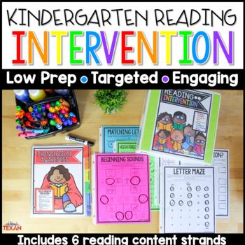 Reading Intervention Binder - No Prep