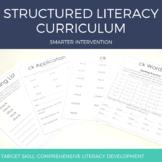Reading Intervention Curriculum - Lesson Plans & Student M