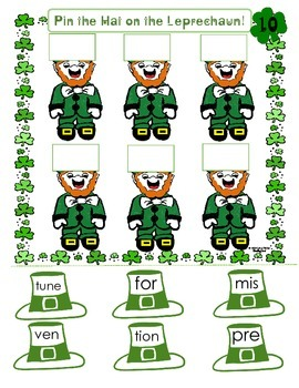 Decoding Multisyllabic Words MATS MARCH LEPRECHAUN Reading Intervention