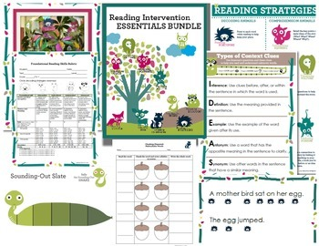 Reading Intervention Essentials Bundle {Foundational Skills}