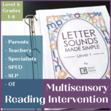 Multisensory Reading Intervention: Letter Sounds Made Simp
