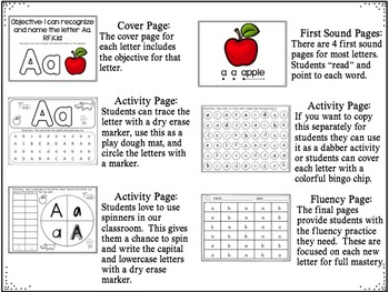 Reading Intervention MADE EASY: Letter Recognition