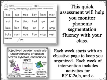 Reading Intervention MADE EASY: Phoneme Segmentation