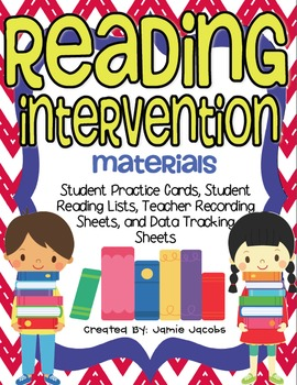 Reading Intervention Materials
