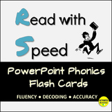 Reading Intervention: PowerPoint Flash Cards for Phonics and Decoding