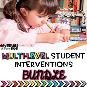 Reading Intervention Printables
