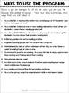 Reading Intervention Program FREE Informational Resource