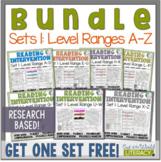 Reading Intervention Program-Bundle Set 1   Distance Learn