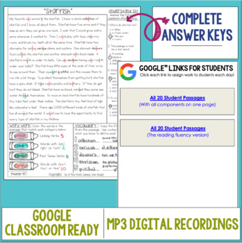 Reading Intervention Program: Set 1-L-P | Distance Learning | Google Classroom