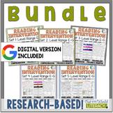 Reading Intervention Program-Bundle all Sets in E-G | Dist