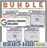 Reading Intervention Program-Bundle for all Sets in H-K Level Range