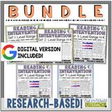 Reading Intervention Program-Bundle for all Sets in H-K Le