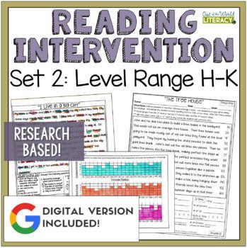 Reading Intervention Program: Set Two Level Range H-K RESE