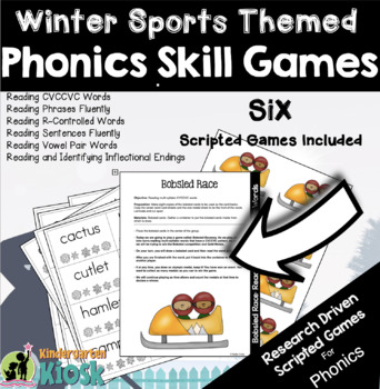 Winter Themed Reading Intervention Games