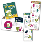 Reading Intervention Strategy Book and Banner Set