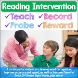 Reading Intervention Strategy Dolch Second Grade Sight Words