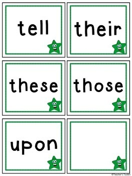 Reading Intervention Activities | Second Grade Sight Words | Dolch