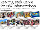 Reading Intervention Task Cards for Emerging & Non Self-Correcting Readers